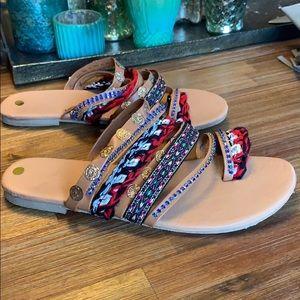 Fabulous boho festival sandals.